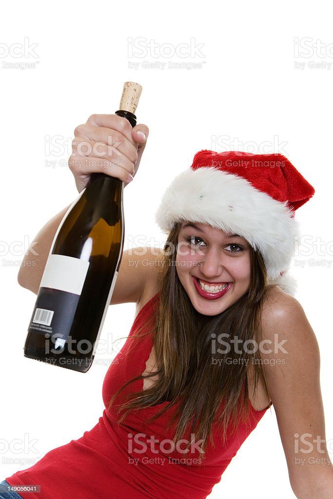 Happy cheer royalty-free stock photo