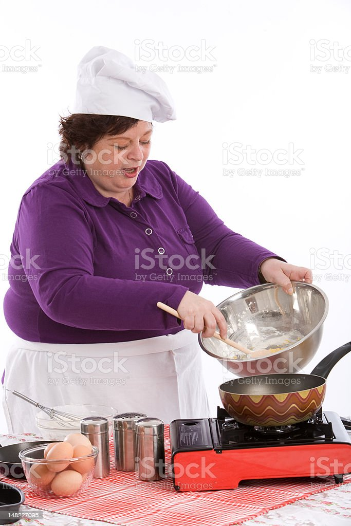 Happy chef royalty-free stock photo