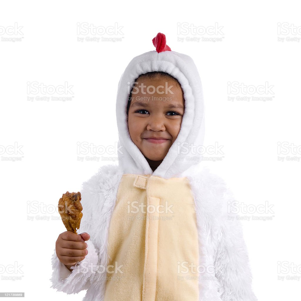 Happy Chicken royalty-free stock photo