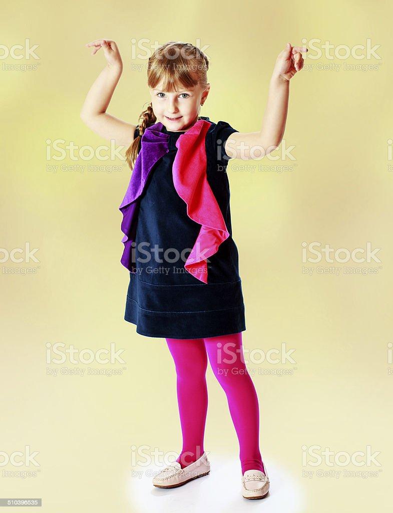 Heureux enfant photo libre de droits