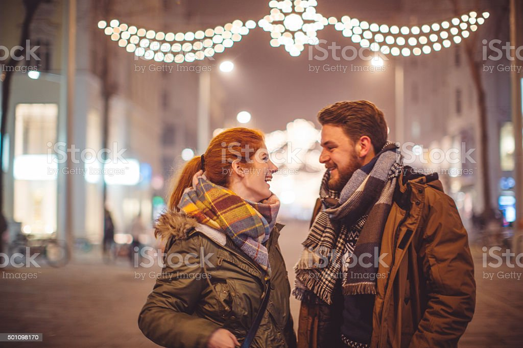 Happy Christmas days stock photo