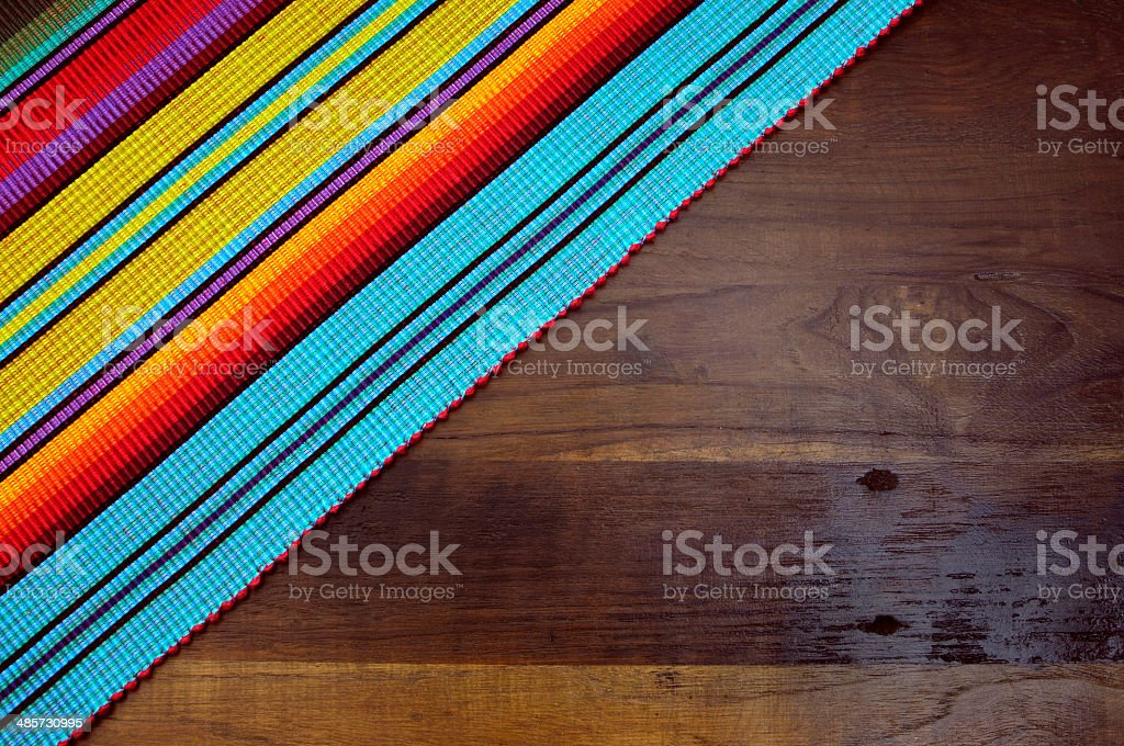 Happy Cinco de Mayo, 5th May, party table background stock photo