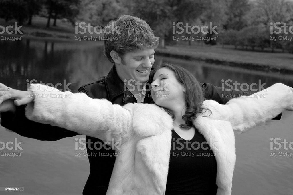 Happy Couple 3 royalty-free stock photo