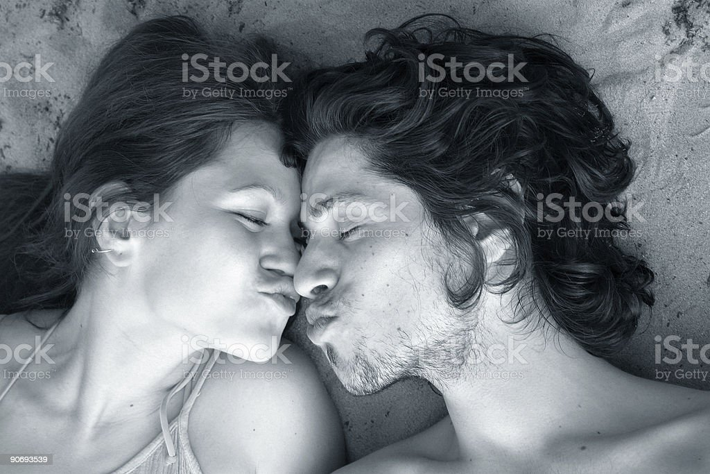 Happy couple 7 stock photo