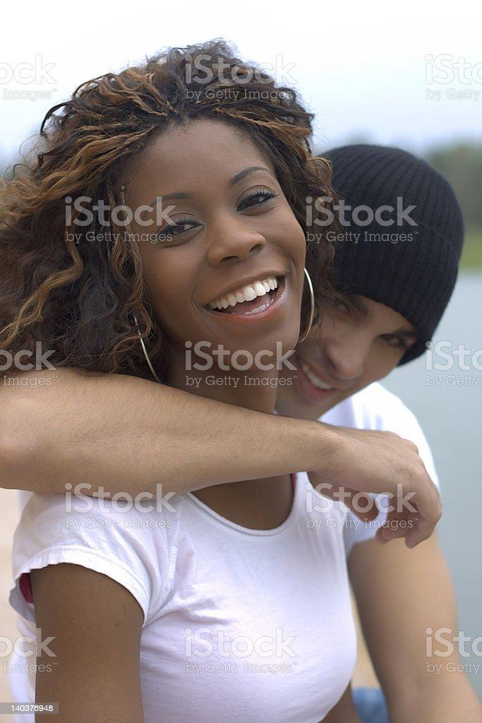 Happy Couple I royalty-free stock photo
