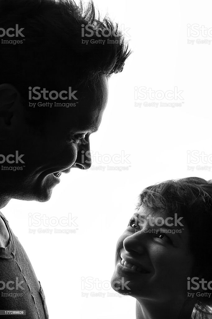 Happy Couple In Love royalty-free stock photo