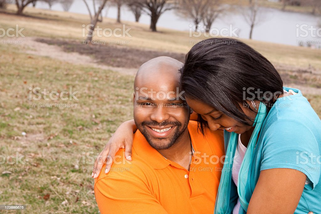 Happy Couple  Laughing royalty-free stock photo