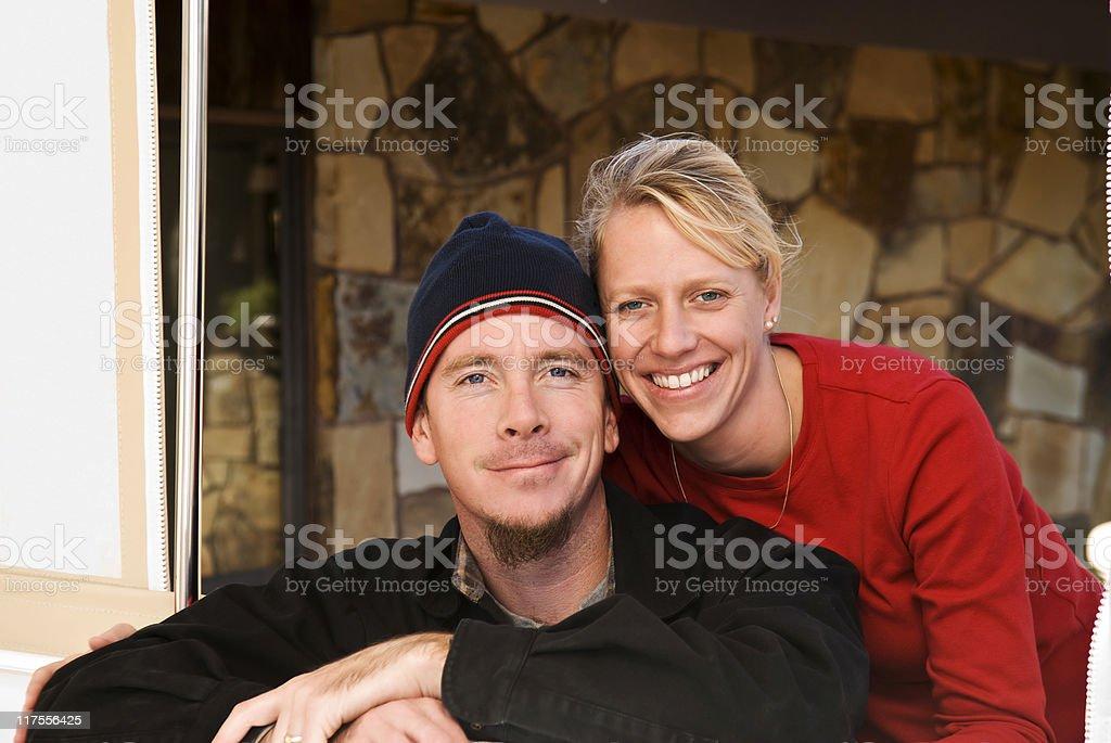 Glückliche Paar Lizenzfreies stock-foto
