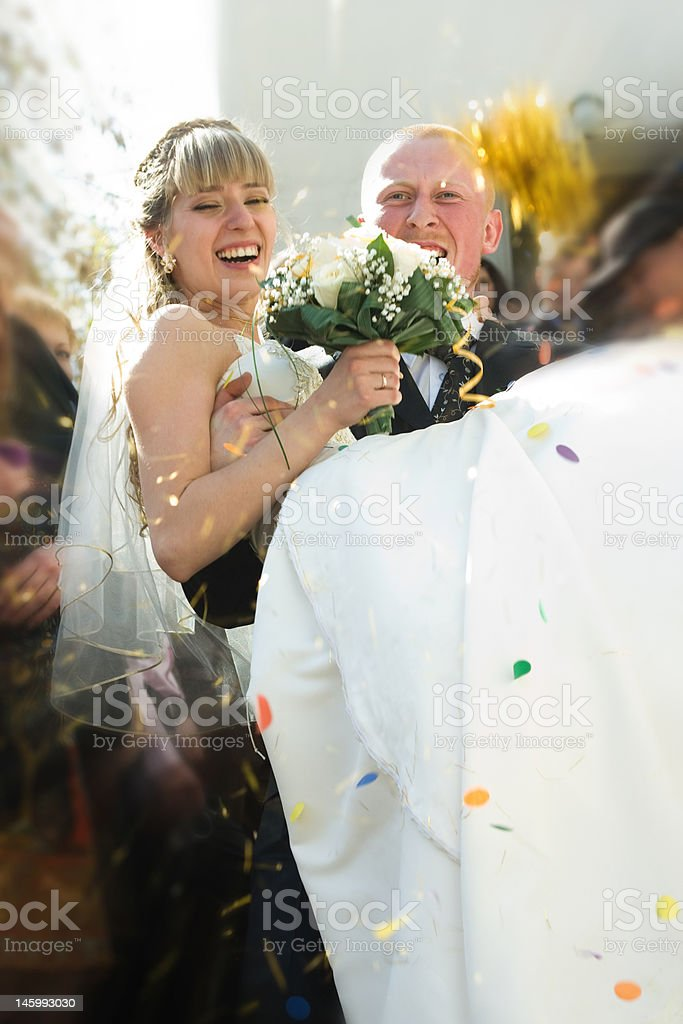 Happy couple royalty-free stock photo