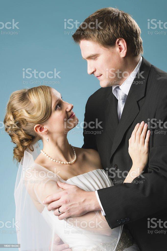 Happy couple royalty-free stock photo