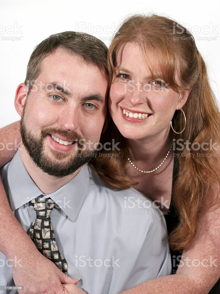 Happy couple. royalty-free stock photo