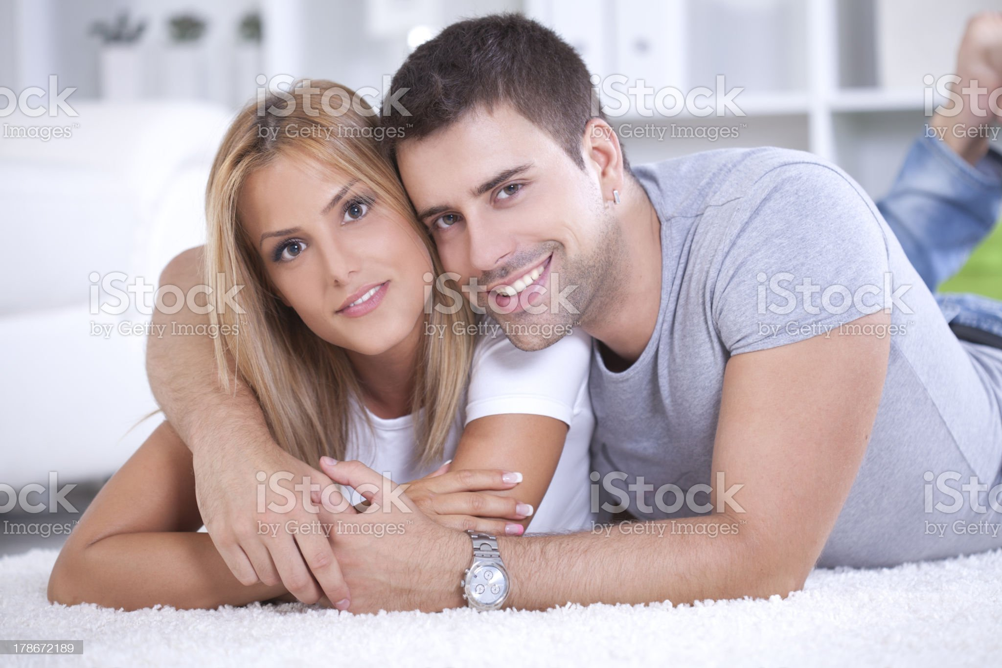 Happy couple. royalty-free stock photo