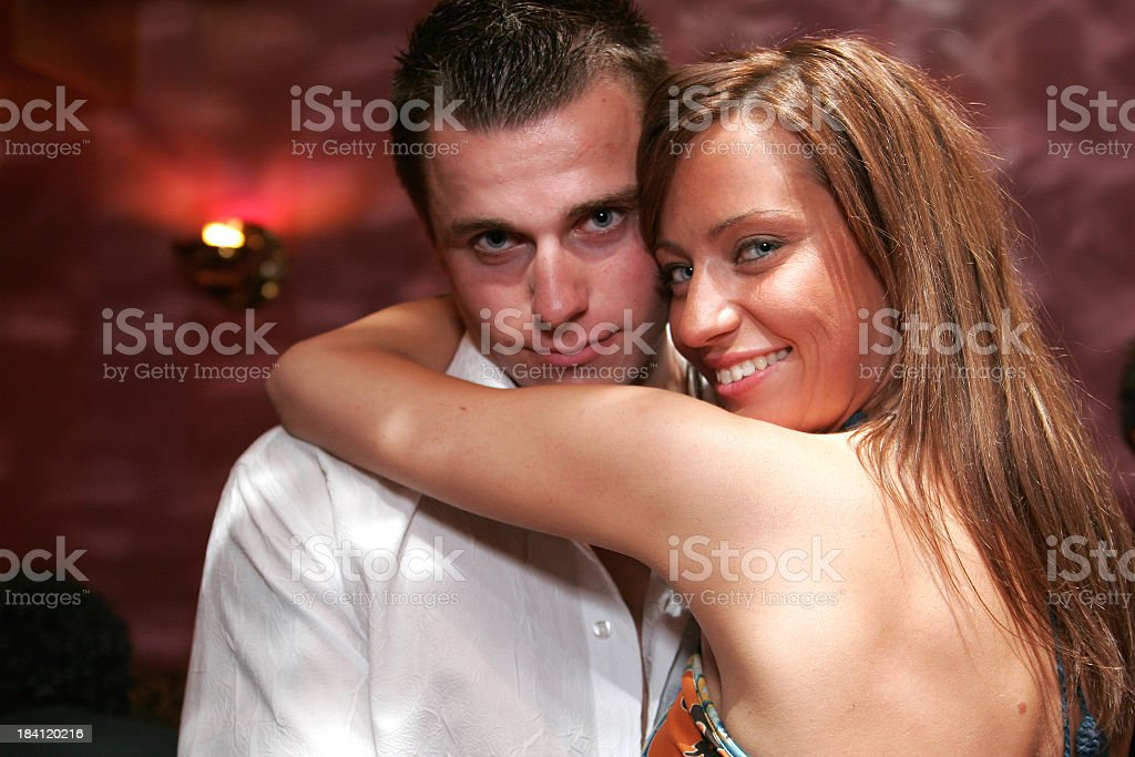 Happy couple. stock photo