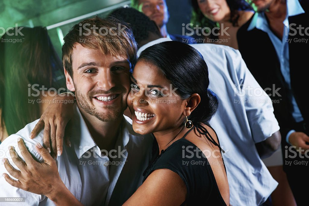 Happy couple together royalty-free stock photo