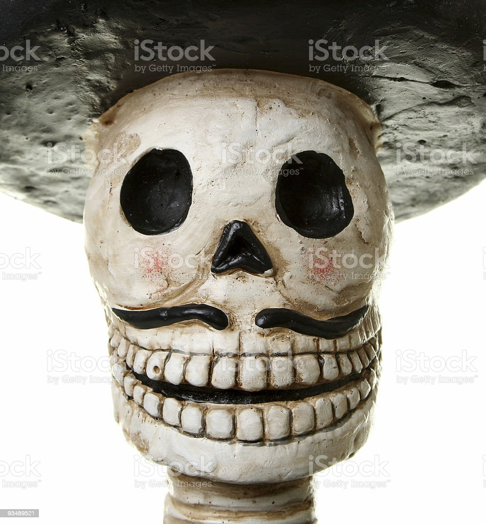 Happy Day of the Dead stock photo