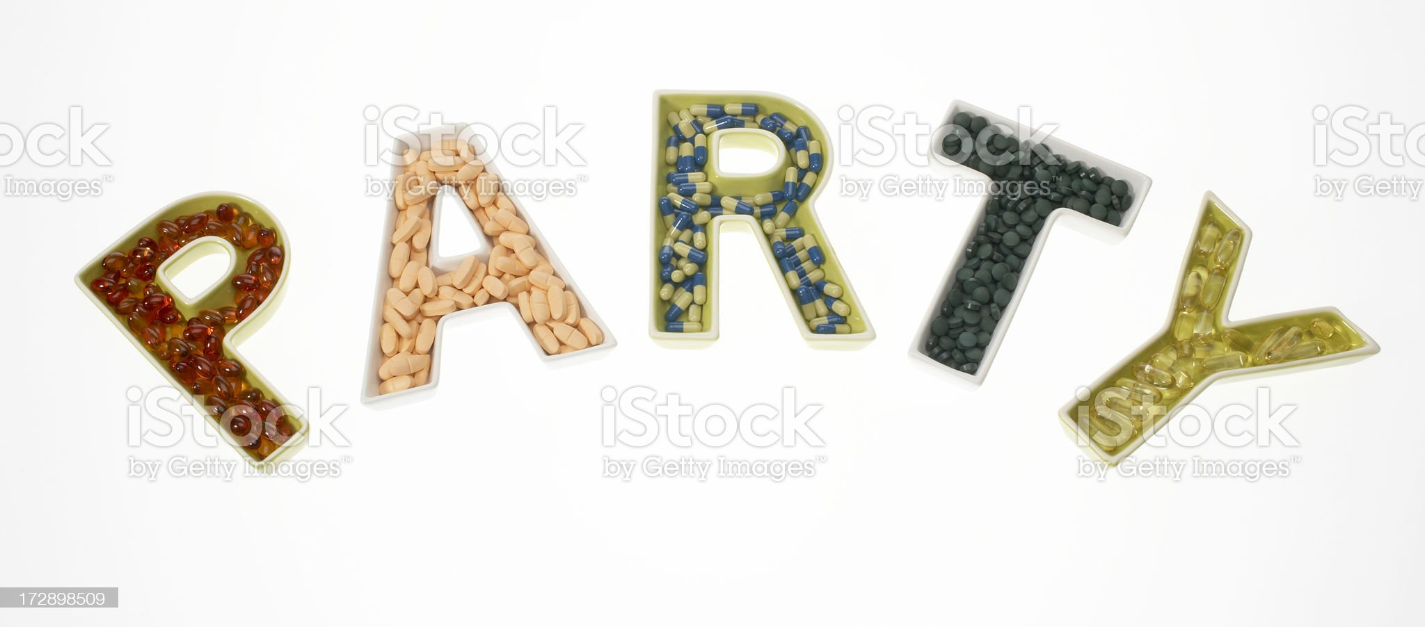 Happy doping party royalty-free stock photo