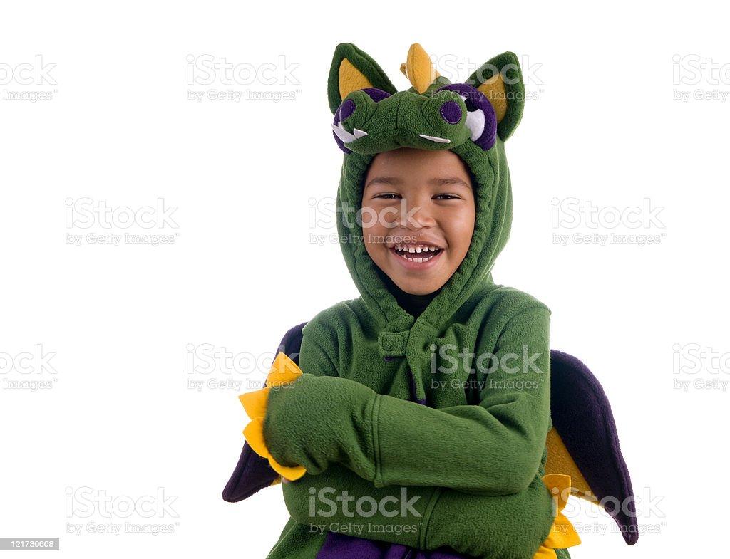 Happy Dragon royalty-free stock photo