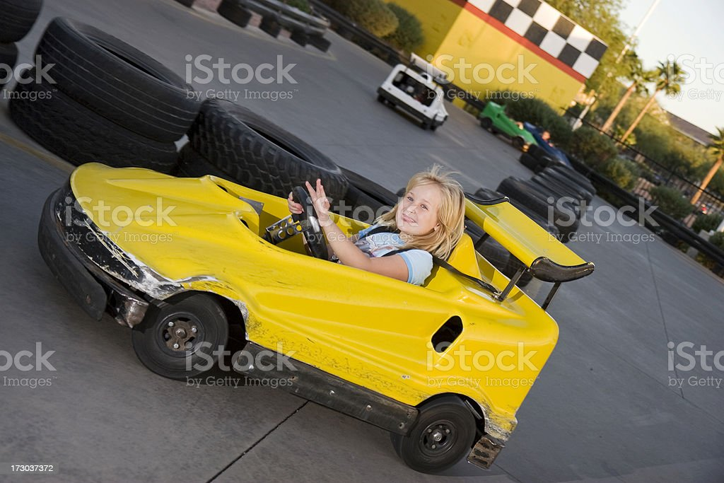 Happy Driver royalty-free stock photo