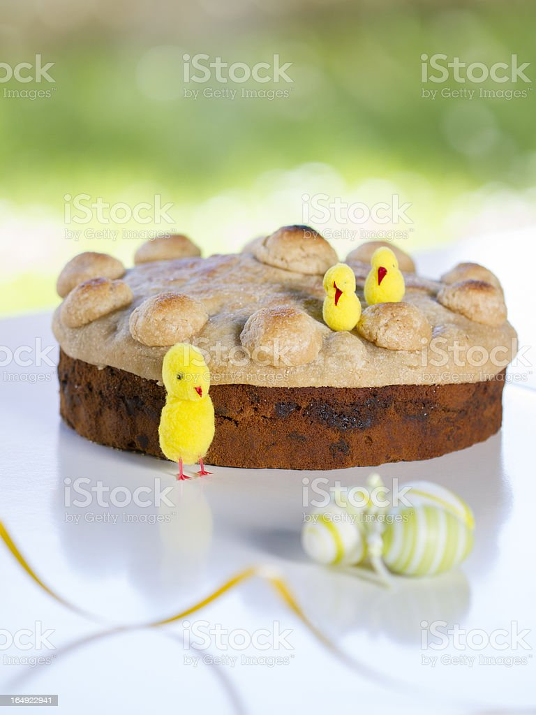 Happy Easter Chicks stock photo