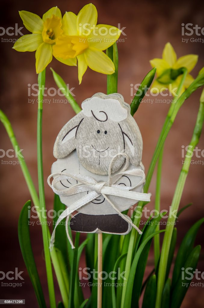 Happy Easter concept stock photo