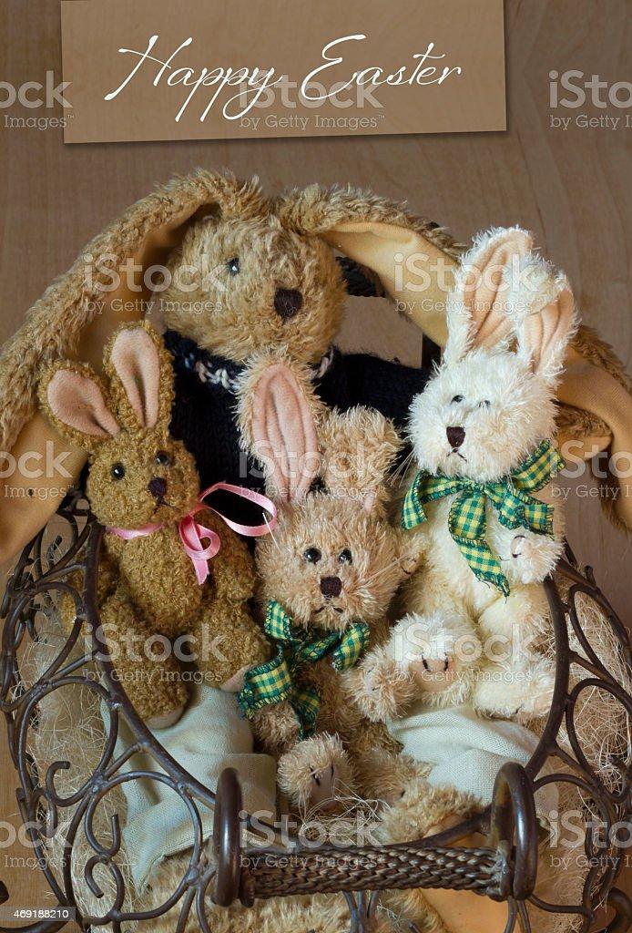 Happy Easter Begrüßung – Foto