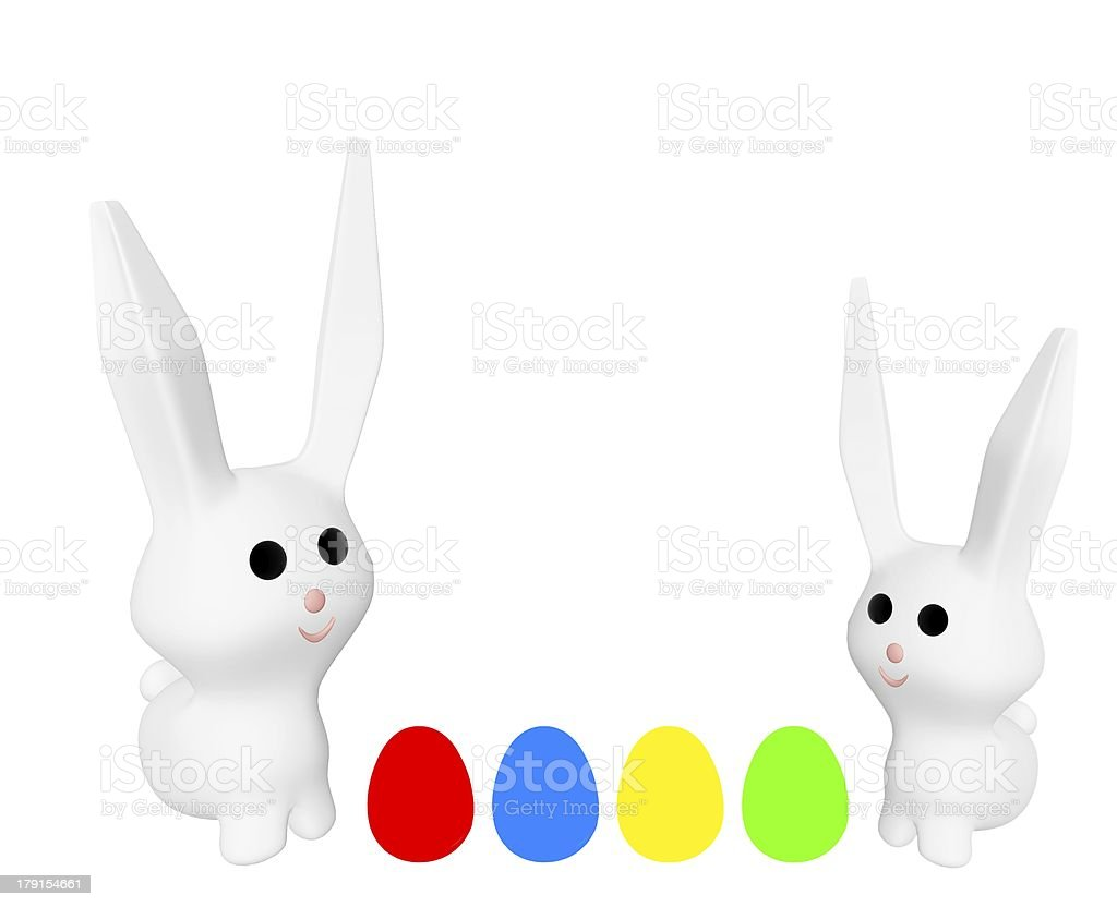 Frohe Ostern royalty-free stock photo