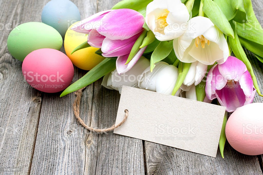 Happy Easter stock photo