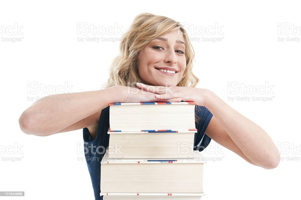 Happy education royalty-free stock photo