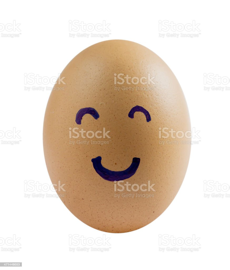 happy eggs royalty-free stock photo
