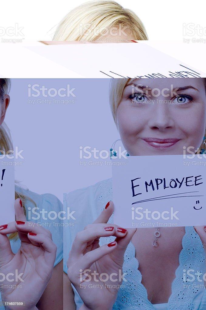 Happy Employee royalty-free stock photo