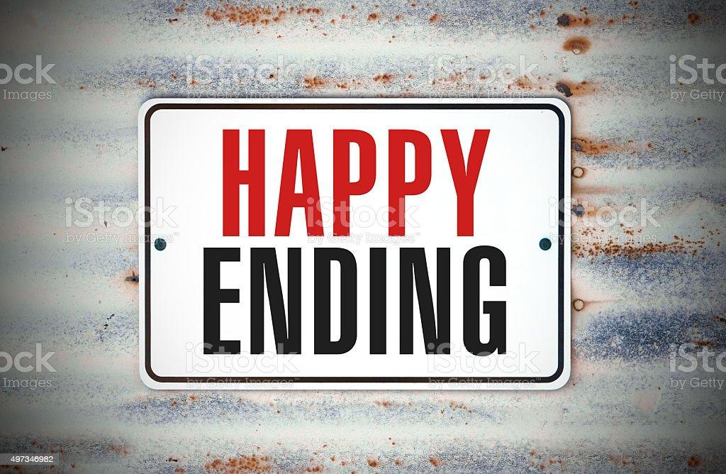 Happy Ending stock photo