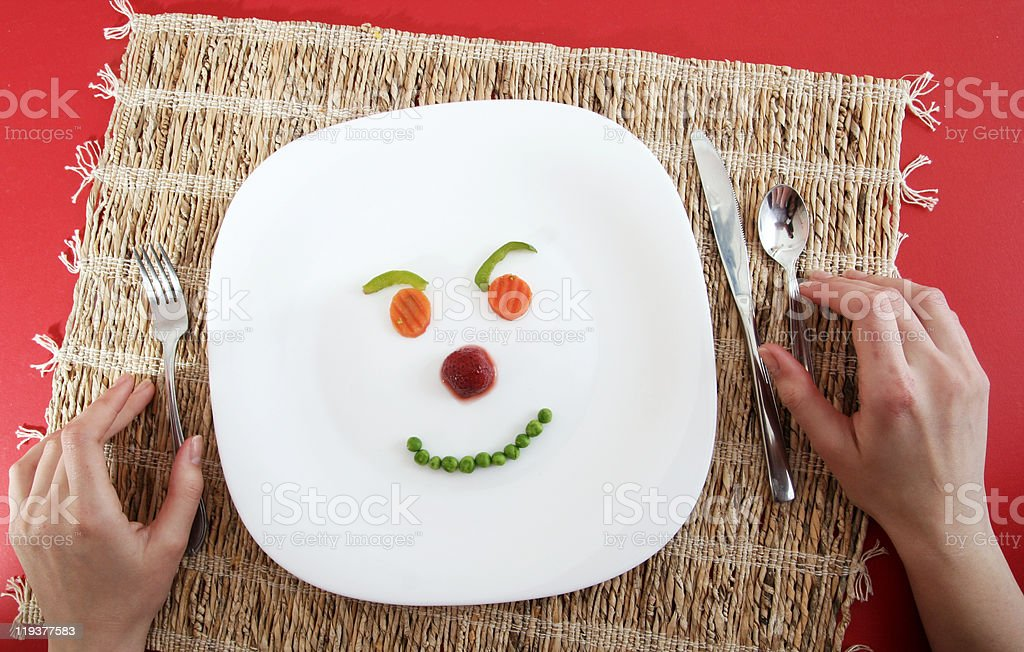 Happy face ! royalty-free stock photo