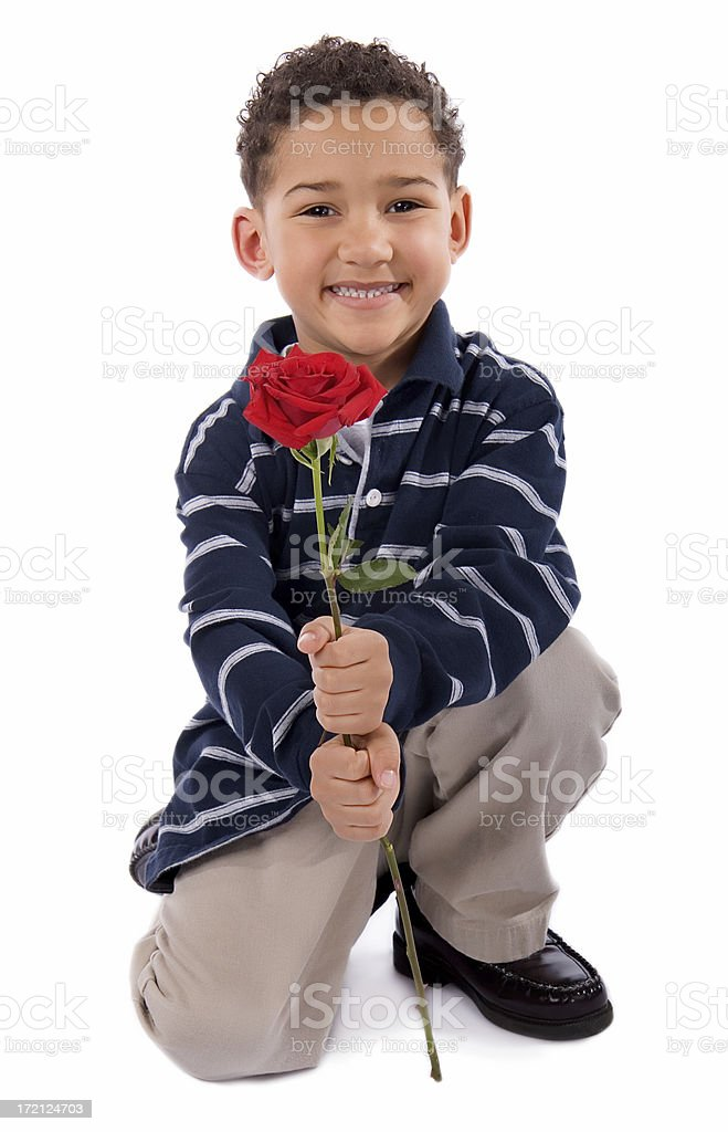 Happy Face Smile Rose 2 royalty-free stock photo