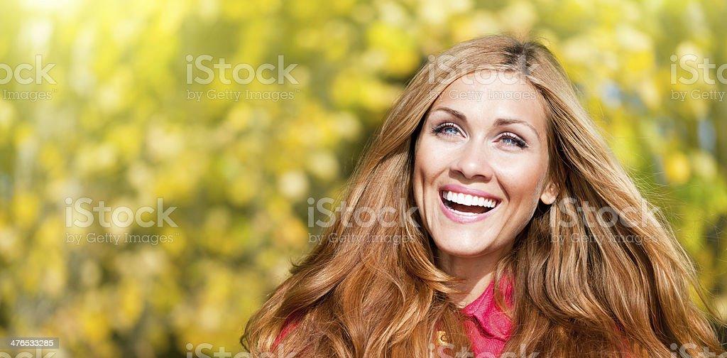happy fall royalty-free stock photo
