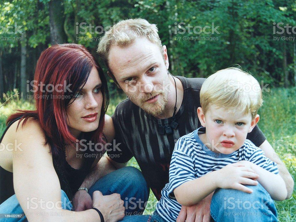 happy family 3 royalty-free stock photo