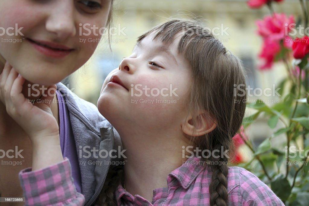 Happy family moments royalty-free stock photo