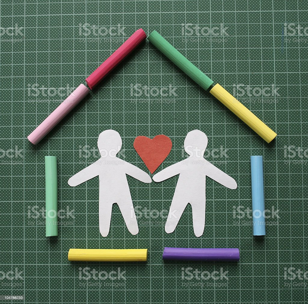 Happy family. royalty-free stock photo