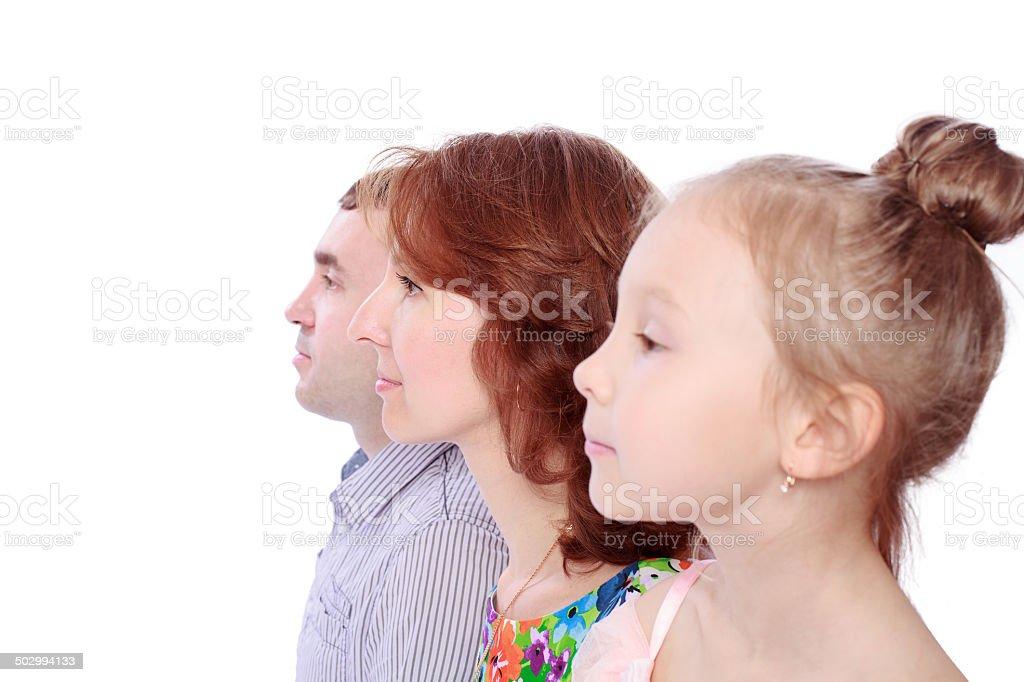 Heureuse famille photo libre de droits