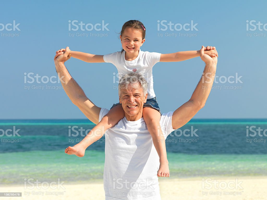 Happy family weekend royalty-free stock photo