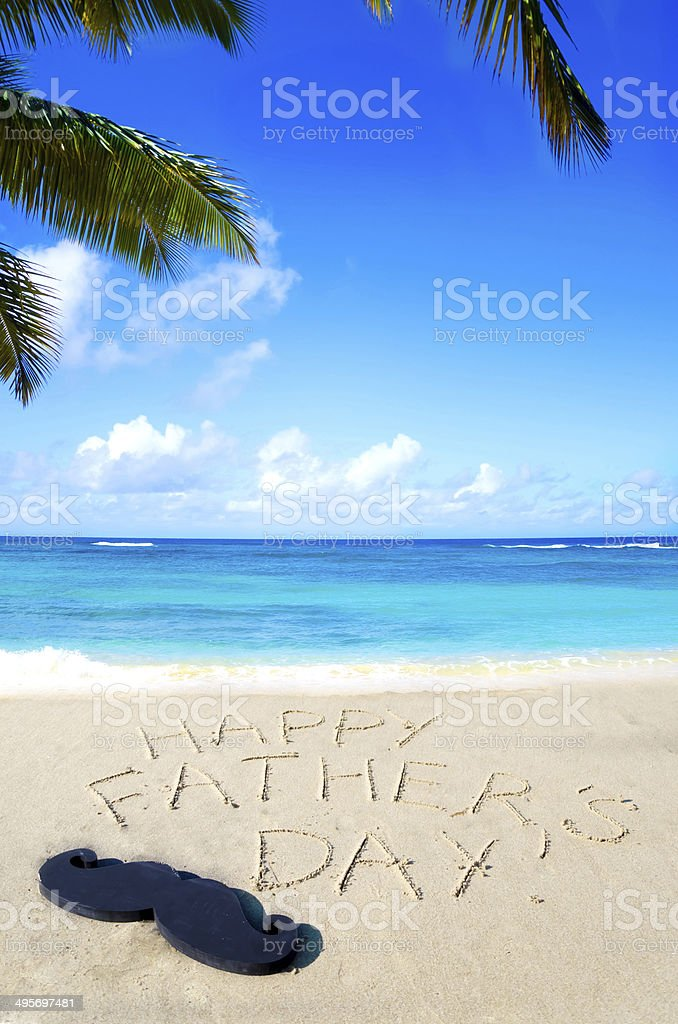 Happy father's day background royalty-free stock photo