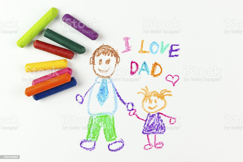 Happy father's day stock photo