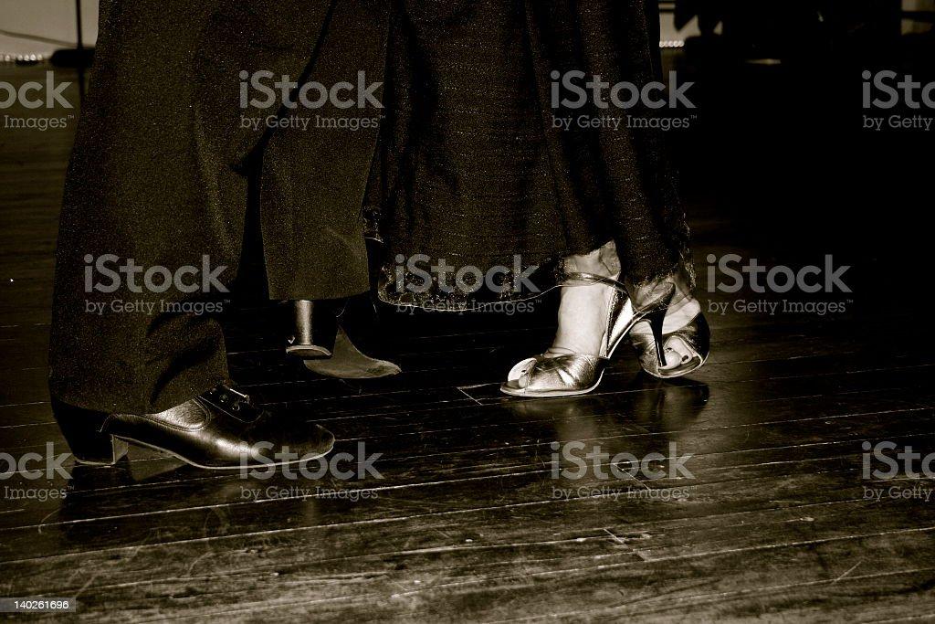 Happy Feet stock photo