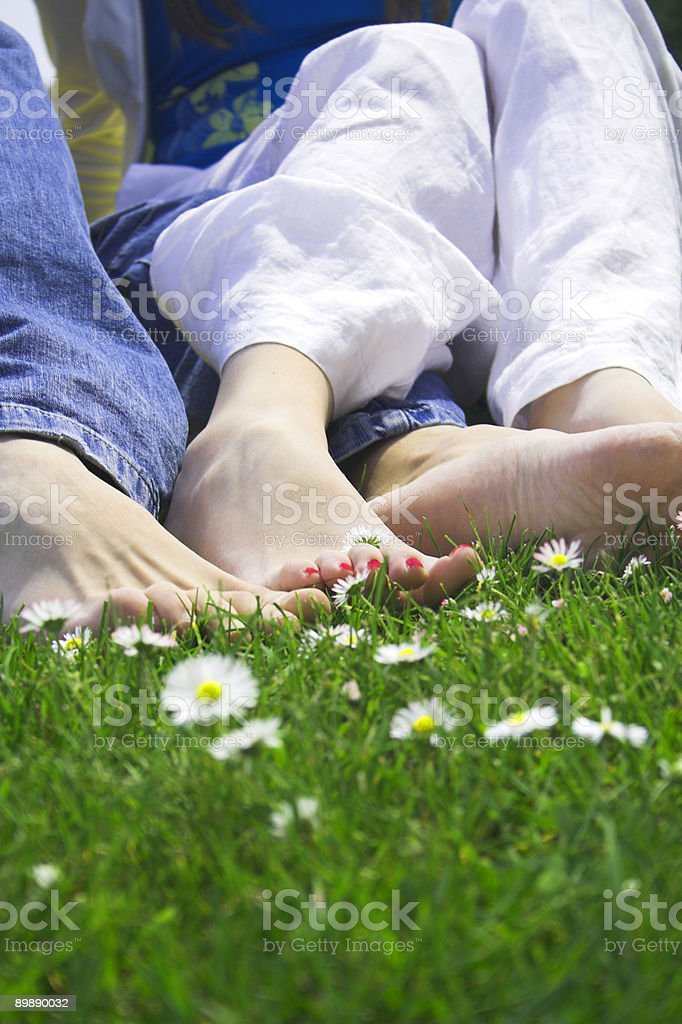 happy feet royalty-free stock photo