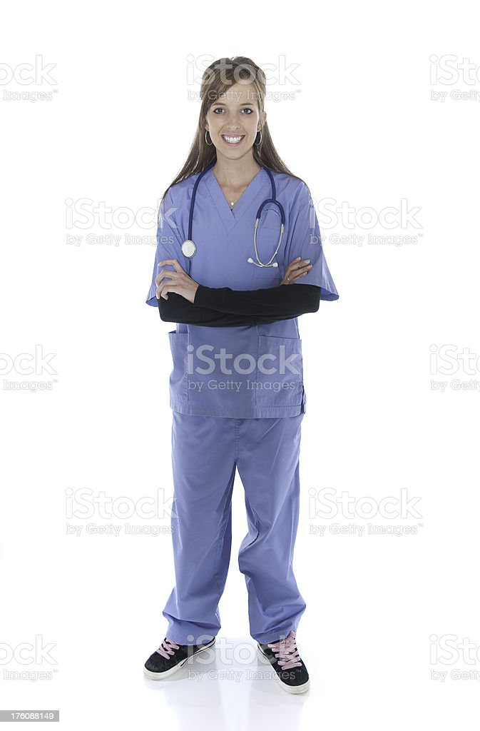 Happy Female Medical Professional royalty-free stock photo