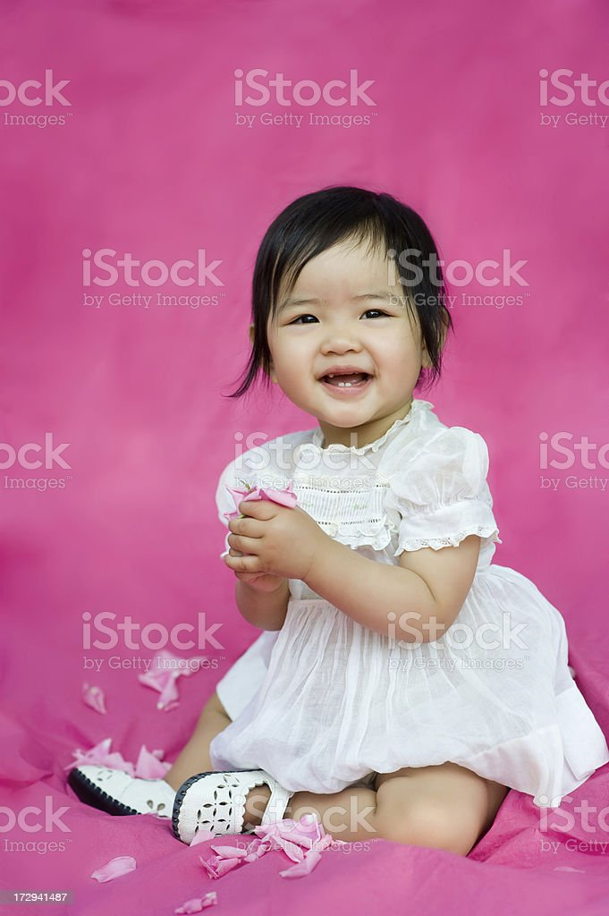 happy first birthday royalty-free stock photo