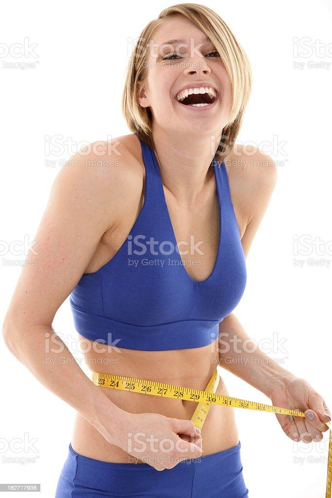 fit mujer feliz foto de stock libre de derechos