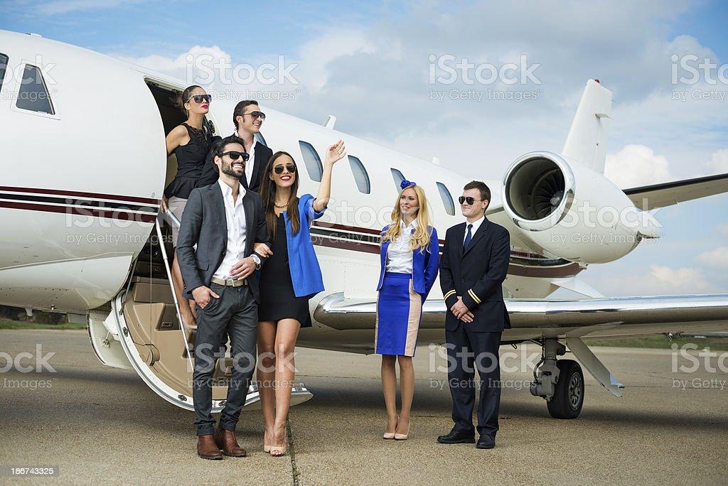Happy flying royalty-free stock photo