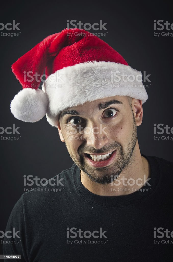 Happy for Christmas royalty-free stock photo