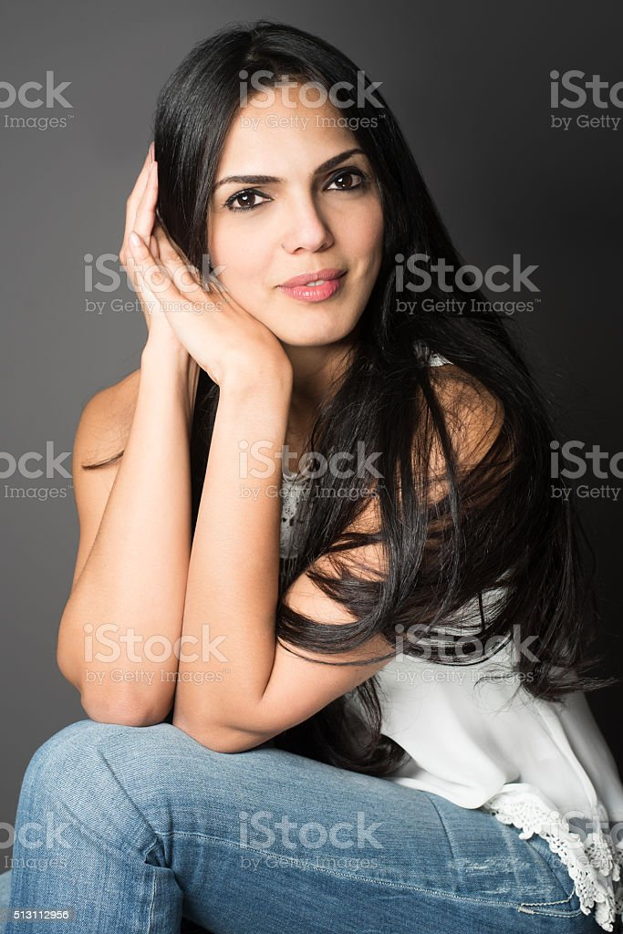 Happy Forties stock photo