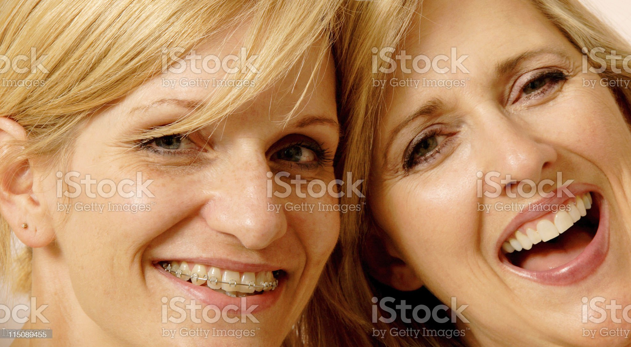 happy friends - middle aged women royalty-free stock photo